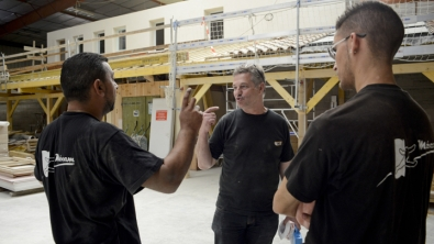 Mobilisation des professionnels du bâtiment